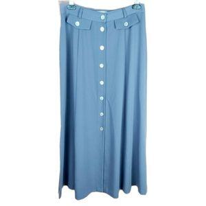 Marie Claire maxi skirt size 9 purple